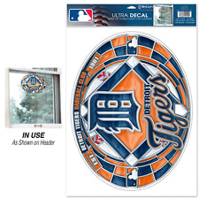 Detroit Tigers Stained Glass Ultra Decal