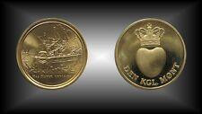 """Medaille Dänemark Schifffahrt Schiff  Segelschiff 4 Master """"Renascor"""""""