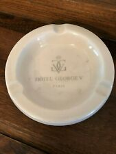 Vintage Rare Hotel George V Paris Ashtray