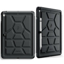 For iPad Air 3 10.5 Inch [Shockproof] w/Drop Protection Silicone Case Cover BLK