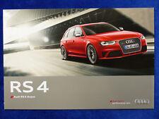 Audi RS 4 Avant quattro 4.2 V8 450 PS - Preview Prospekt Brochure 03.2012