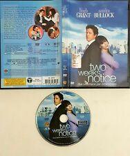 Two Weeks Notice. Due settimane per innamorarsi (2002) DVD