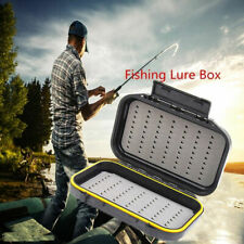 Waterproof Double Side Fly Ice Fishing Tackle Bait Hot Storage Lure Box Hoo A9Y1