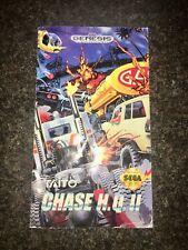 Chase H.Q. II 2 - Sega Genesis - Instruction Manual Booklet - No Game - US Taito