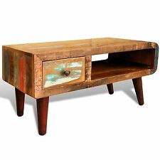 Less than 60cm Height Wooden Antique Style Coffee Tables