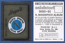 SCUDETTO CALCIATORI PANINI 1990/91 - NUOVO/NEW N. 229 - NAPOLI