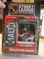 STREET LEAGUE Skateboarding Collector Board - Sean Malto w/ Collector Card
