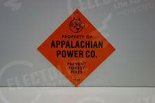Reddy Kilowatt APPALACHIAN POWER DIE CUT HEAVY-THICK GREAT ELECTRICIAN GIFT SIGN