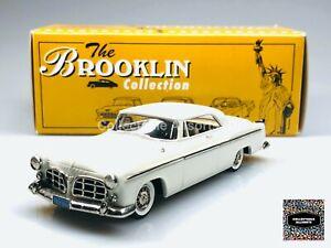BROOKLIN MODELS BRK 19A 1955 CHRYSLER C-300 HARDTOP COUPE (WHITE) 1:43