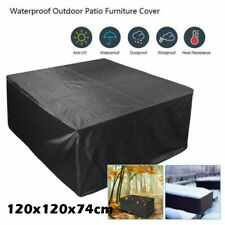 """Waterproof Garden Patio Furniture Covers Square Outdoor Table Rain Cover New 47"""""""