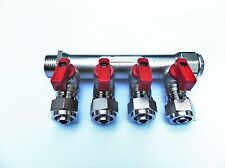 4 Port Radiant Heating Manifold for 1/2