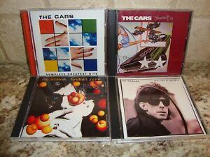 THE CARS / RIC OCASEK 4 CD LOT!