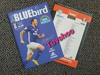Cardiff City v Fulham PLAY-OFF SEMI-FINAL 1ST LEG 27/7/2020! READY TO DISPATCH!