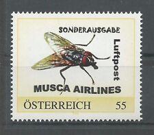 """Österreich PM personalisierte Marke """" MUSCA AIRLINES """" **"""