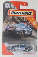 2020 MATCHBOX MBX CITY FORD POLICE INTERCEPTOR