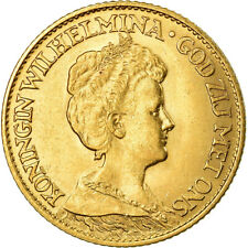 [#499715] Monnaie, Pays-Bas, Wilhelmina I, 10 Gulden, 1917, SUP, Or, KM:149