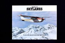 CESSNA '79 Skylanes Factory Sales Brochure 1979 Vintage Rare Color Gift New