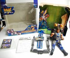 Mattel Max Steel Track and Attack with package