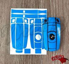 Azul Oscuro Brillo Mando Cubierta Cubierta REVESTIDO BMW 1 3 5 6 SERIE Z4 x 1
