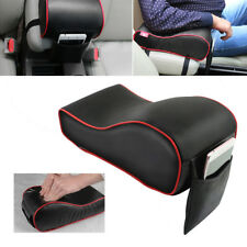 Universal Car SUV Armrest Box Mats PU Leather Console Pad Liner Cushion Cover