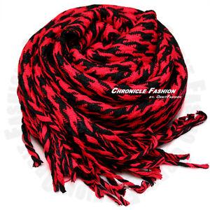 Casual Scarf Winter Warm Wrap Scarves Fleece Long Soft Houndstooth Men Women