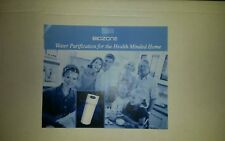 Biozone Water Purifier complete under sink mounting plus faucet  New in box