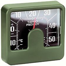 Historisches HR Bimetall Thermometer mit Reliefskala selbstklebend aus 1980