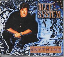 BLUE SYSTEM - Anything CDM 3TR Synth-Pop Euro House 1997 (Hansa) DIETER BOHLEN