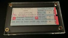 Led Zeppelin Concert Ticket Stub from the Chicago Stadium Saturday 4-9-1977