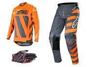 ALPINESTARS KTM ANTHRACITE/ORANGE Racer Braap 2019 MotoCross Jersey/Pants/Gloves