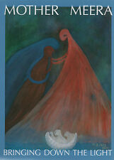 MOTHER MEERA - BRINGING DOWN THE LIGHT - Journey of a Soul after Death - DIN A4