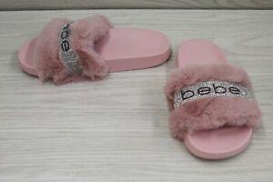 bebe Flynna Slide Sandal, Women's Size 8M, Pink