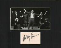 Anthony Quinn Signed Autographed Cut Matted 11x14 w/COA 073019DBT2
