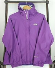 THE NORTH FACE Medium Womens Venture 2 HyVent Purple Rain Hooded Jacket Coat