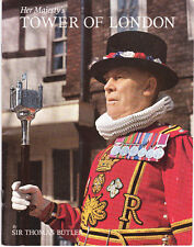 Her Majesty's Tower of London - tourist guide book - 1970's