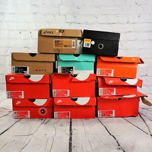 Lot of 11 Assorted Never Used in Box Men's Shoes in Various Sizes -BBR2028