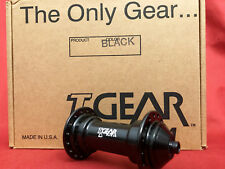 rare NOS TGEAR Cult T-GEAR Vintage oldschool front hub 32H black new old stock