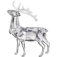 Swarovski Crystal Christmas Stag Reindeer 1133076 New In Box 535 Free Ship