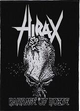 HIRAX BACKPATCH / SPEED-THRASH-BLACK-DEATH METAL