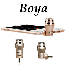 BOYA By-a100 Condenser Omnidirectional Microphone 3.5mm Omni-directional FO J5o3