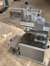 Open Box Inkcup Pad Printing Machine For Pen Ball Label Pvc Mug Diy Press