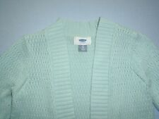 Old Navy Girls size 4T Darling Seagreen Open Cardigan