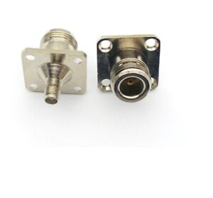 SMA Female to N Type Female Socket Chassis Panel Mount Adaptor  525