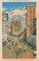 Postcard Times Square New York