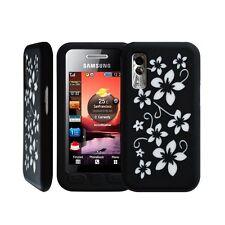 Housse étui coque en silicone pour Samsung S5230 Player One motif fleur couleur