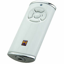 Hörmann Handsender HS5 BiSecur hochglanz weiß mit Batterie BS 868 MHz HS 5