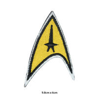 Star Trek Super Hero Movie Embroidered Patch Iron on Sew On Badge For Clothe etc