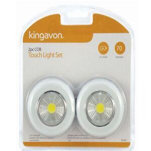 TL104 - Kingavon 2pc COB Touch Light Set