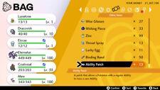 Pokemon Sword & Shield Ability Patch