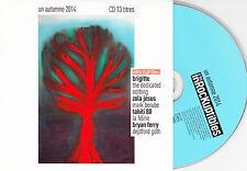 CD CARTONNE CARDSLEEVE 14T BRIGITTE/TAHITI 80/BRYAN FERRY/LA FÉLINE/ZOLA JESUS